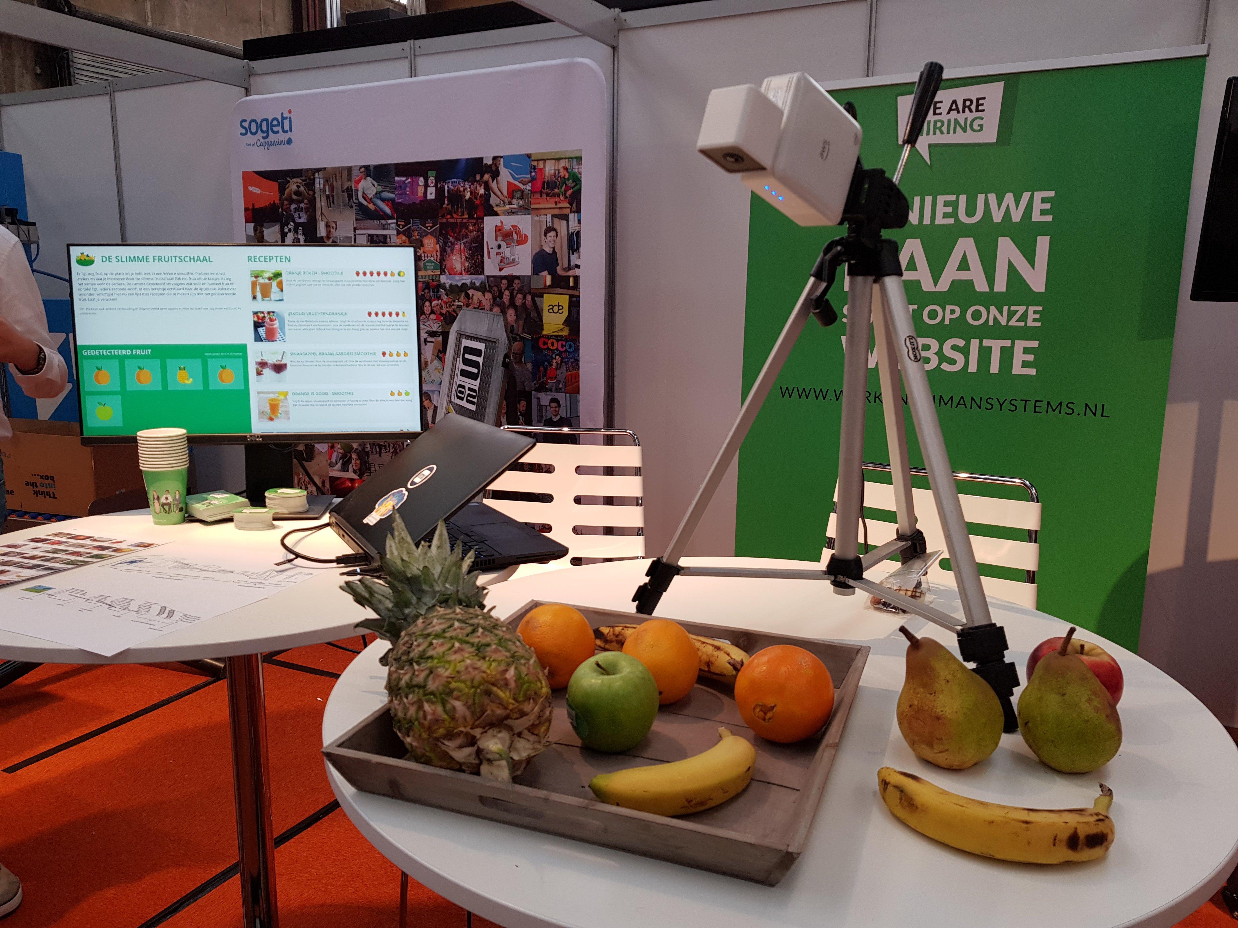 Digitale Fruitmand